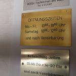 Schilder Öffnungszeiten - Frank Klingberg - Gravieranstalt Klingberg in München